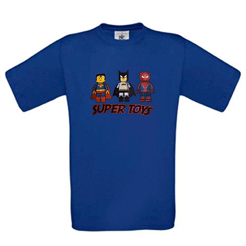 tee shirt lego supers héros