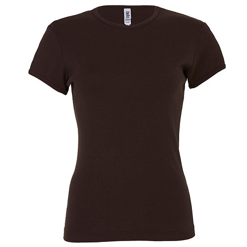 T-shirt chocolat VIERGE