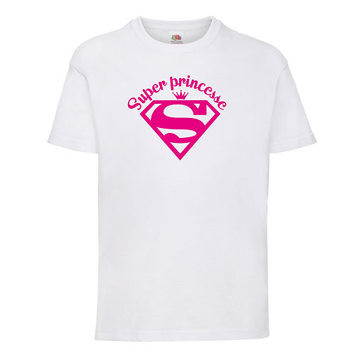 "T-shirt ""SUPER PRINCESSE"""