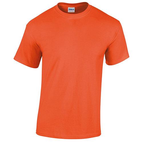 T-shirt orange VIERGE