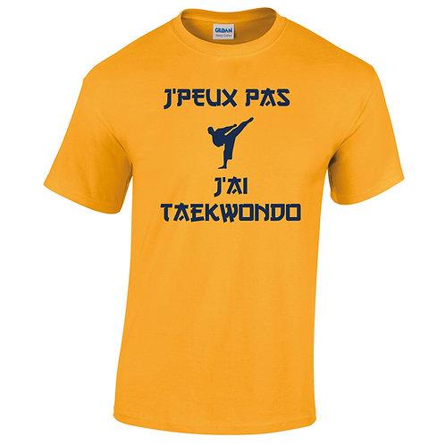 peux pas taekwondo