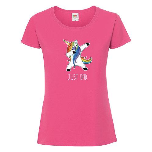 t-shirt dab