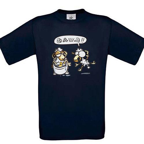 "T-shirt marine "" LAVAGE  """