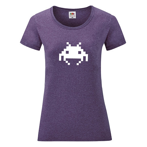 t-shit femme space Invaders