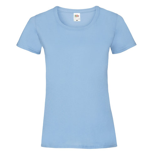 T-shirt bleu ciel VIERGE