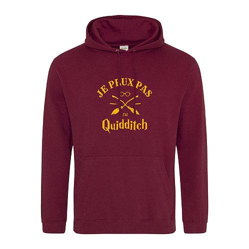 sweat capuche quidditch