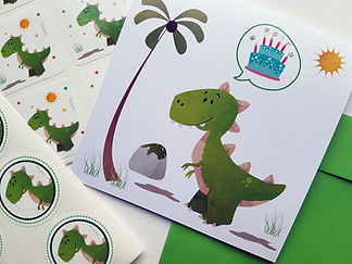 Inviti e accessori feste Dinosauri
