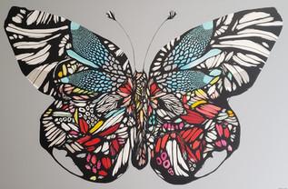 """""""Feel Your Inner Transformation and Make Your Dreams Come True"""" / """"Siente tu transformación interior y haz tus sueños realidad"""" (butterfly)"""