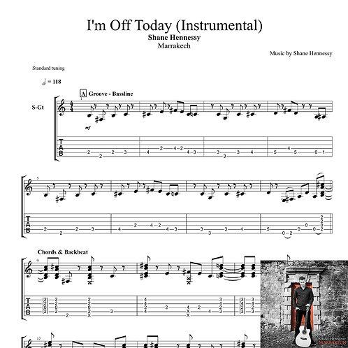 Tab: I'm Off Today (PDF)
