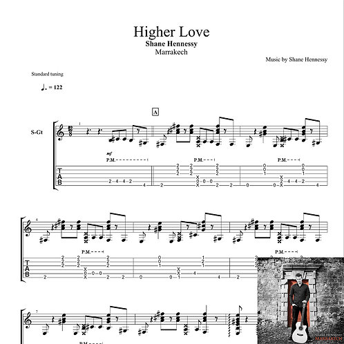 Tab: Higher Love (PDF)