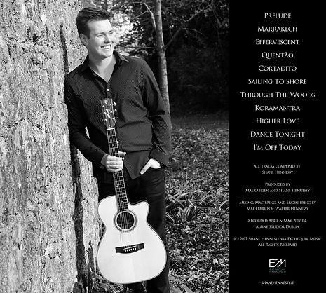 Shane Hennessy Marrakech Album Tracklisting Back Cover