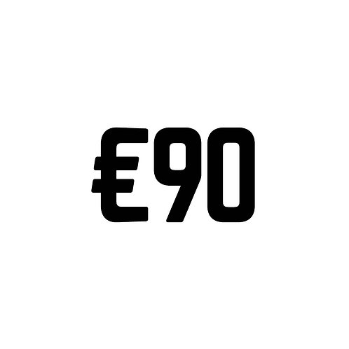 Virtual Tip Jar: €90
