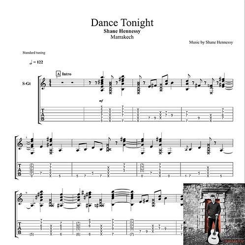 Tab: Dance Tonight (PDF)