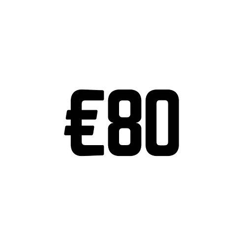 Virtual Tip Jar: €80