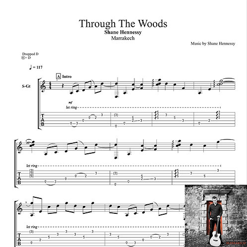 Tab: Through The Woods (PDF)