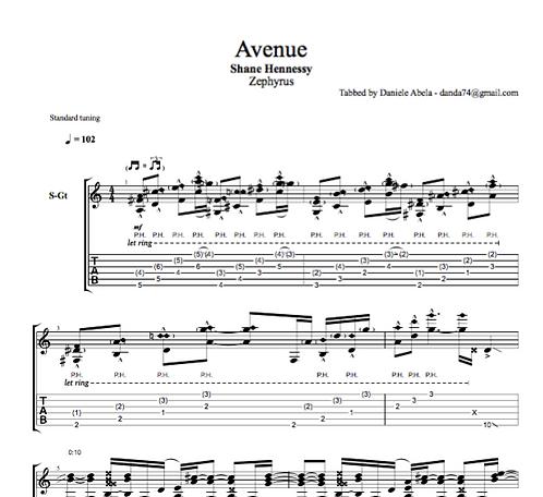 Tab: Avenue (PDF)