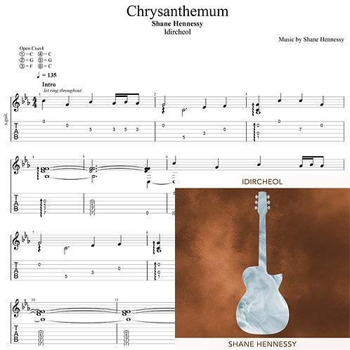 Tab: Chrysanthemum (PDF)