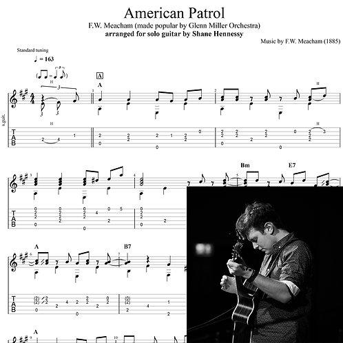 Tab: American Patrol (PDF)