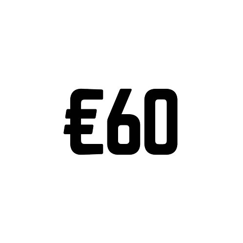 Virtual Tip Jar: €60