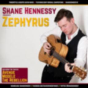 Shane Hennessy Zephyrus Album Cover