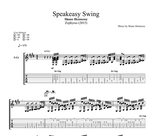 Tab: Speakeasy Swing (PDF)