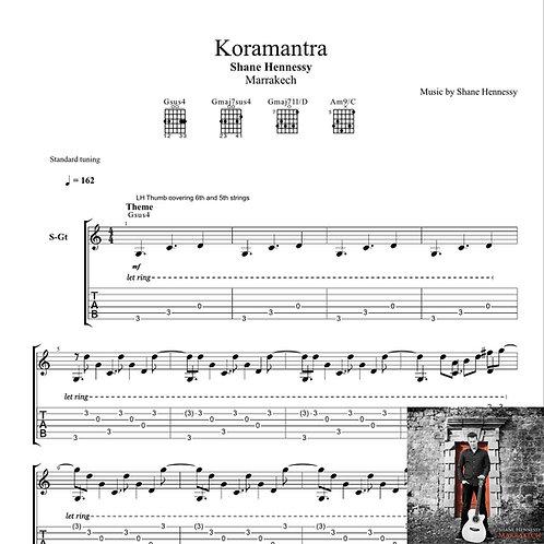 Tab: Koramantra (PDF)