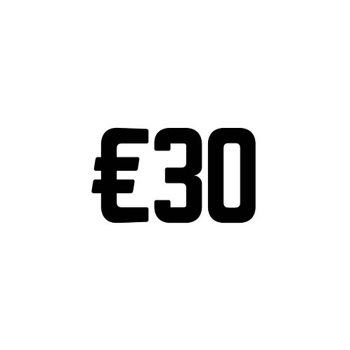 Virtual Tip Jar: €30