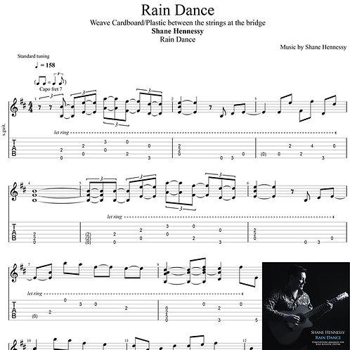 Tab: Rain Dance (PDF)