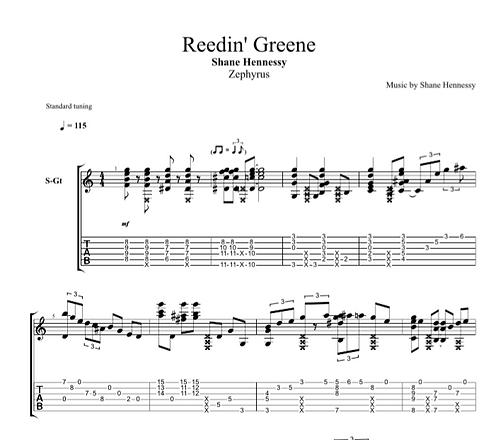 Tab: Reedin' Greene (PDF)