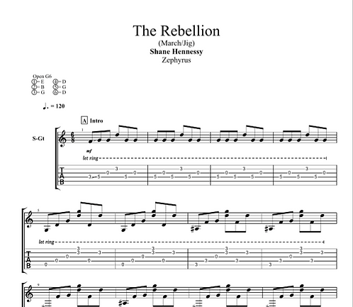 Tab: The Rebellion (PDF)