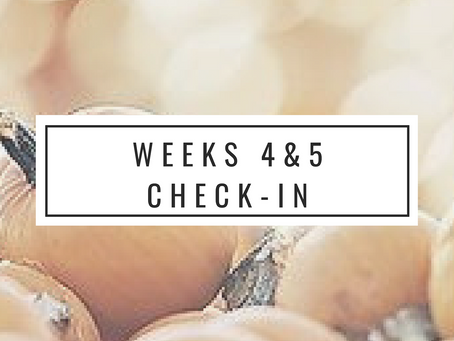 TIU31 Weeks 4 & 5 Check-in
