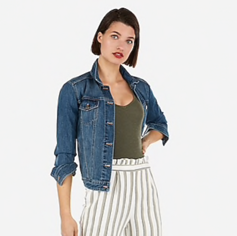 High Waisted Striped Ruffle Top Ankle Pant