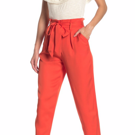 Socialite Paperbag Trousers