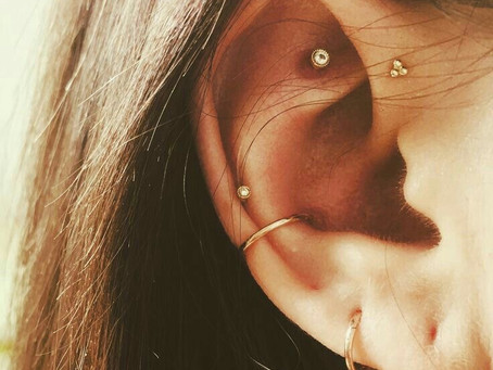 What I'm Loving Wednesday: Constellation Piercing