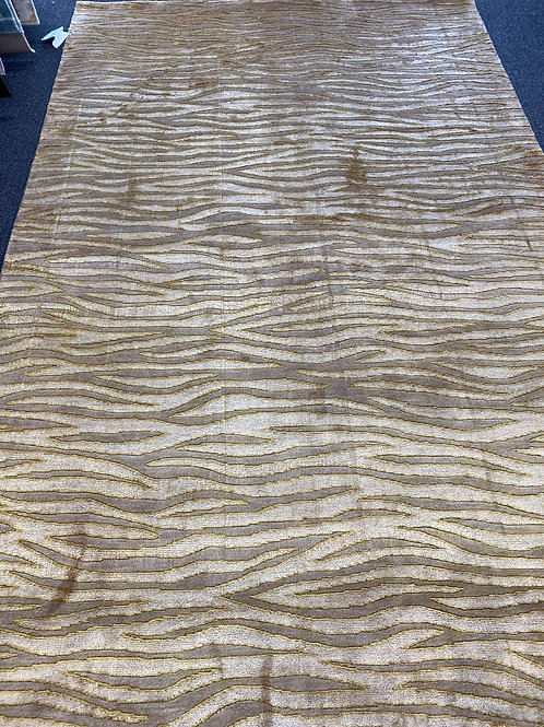 Chinese hand knotted wool with silk