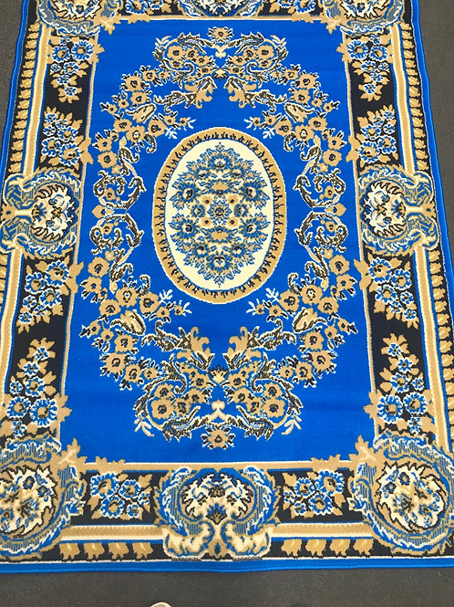 Neon blue persian royal/oval  medallion