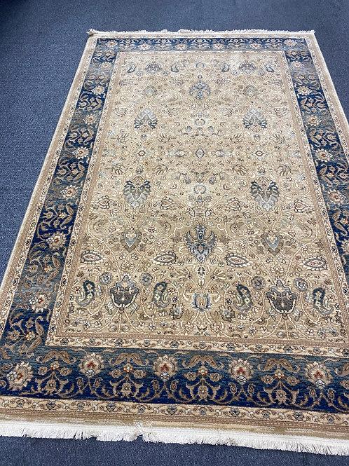 KAR-3 Persian Garden Blue New Zeland Wool