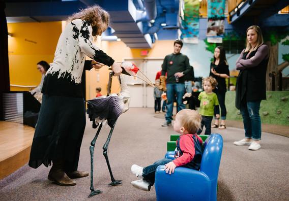 Crane Workshop at Nebraska Children's Center.