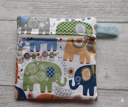 Wetbag happy elephants blue