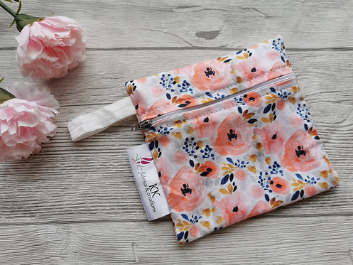 Wetbag pink roses