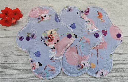 Set 3 PU dnevna curvy, flamingosi
