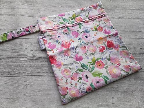 Wetbag watercolor roses