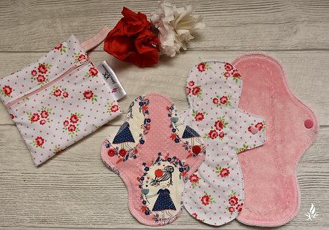 PU set roses + wetbag - mali start paket