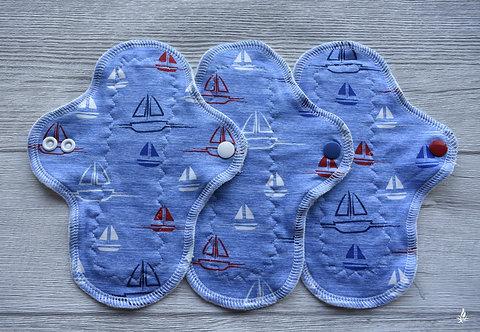 Set 3 PU dnevni curvy, sailing boat