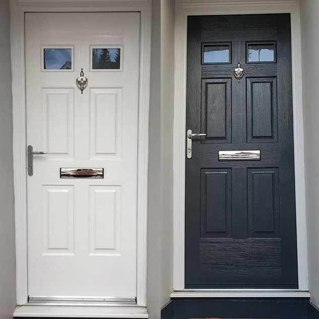 Before & After professionally sprayed to