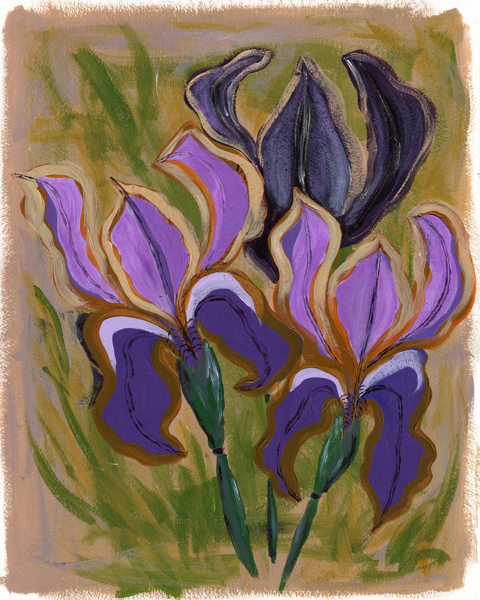 Psychedelic Iris