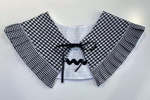 Gingham Reversible & Detachable Collar