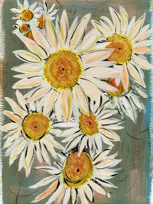 DAISY CHAIN | Fine Art Giclee Print