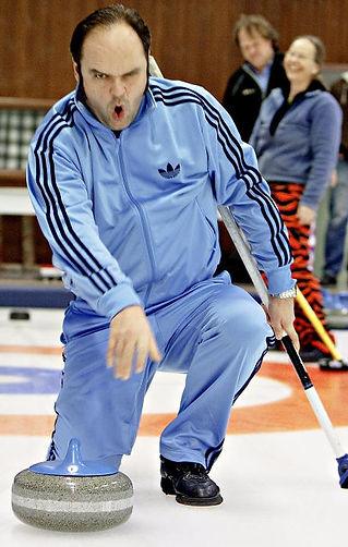 Curling spille snarøya