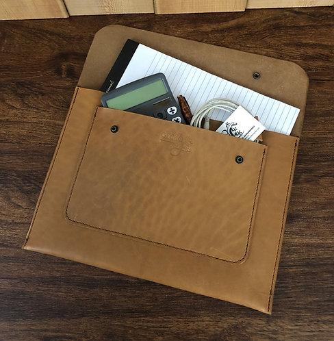 Leather Brief-Sleeve